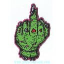 Patch ecusson zombie hand finger tattoo jerald tidwell humantree
