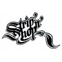 Sticker SNS StripnShop signature black on with