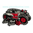 Sticker Bigdaddyjo hot Rod spirit kustom used ford BIG47