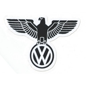 sticker vw vintage volkswagen logo aigle allemnad dutch oldschool vw 23