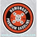 Sticker humungus premium gasoline mad max used skull 32