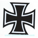 Sticker planet kustom croix de malt ou de guerre iron cross 2