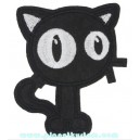 Patch ecusson chat cartoon gros yeux big eyes
