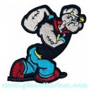 Patch ecusson popeye course cartoon