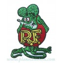 Patch ecusson rat fink rf themocollant kustom rats
