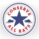 Sticker parodie converse rat conserve all rats 20