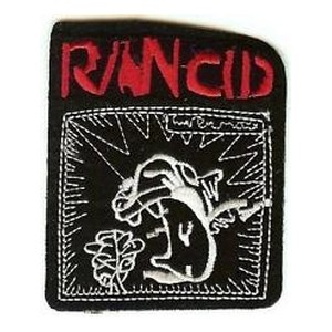 Patch ecusson thermocollant Rancid band punk rock USA
