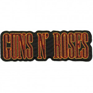 Patch ecusson thermocollant guns n roses band heavy metal