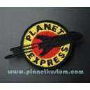 Patch ecusson thermocollant planet express fusee