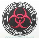 Patch ecusson zombie outbreak response team biohazard logo