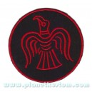 Patch ecusson thermocollant red bird oiseau rouge