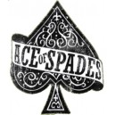 Sticker ace of spades moyen as de pique used rats