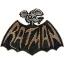 Sticker rat man super hero rats rust moyen