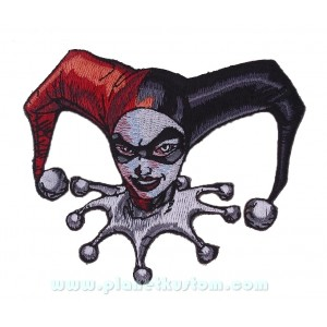 Patch ecusson thermocollant Harley Quiin la chérie du joker