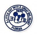 Patch ecusson mickey mouse hero florida souris 1928