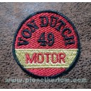 Patch ecusson von Dutch 49 motor old stock