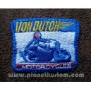 Patch ecusson von Dutch motorcycles moto course old stock