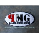 Patch ecusson thermocollant oalace music group PMG maison disque