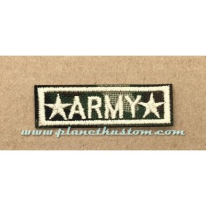 Patch ecusson thermocollant army camou star etoiles
