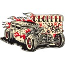 Sticker Bigdaddyjo Shopped hot Rod BIG6