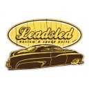 Sticker Bigdaddyjo Leadsled kustom & speed parts BIG7