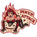Sticker Bigdaddyjo pinup attack BIG13
