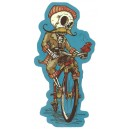 Sticker Humantree tidwell collector death bicycle skull tidwell3
