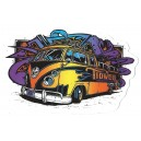 Sticker Humantree tidwell collector kustom bus tidwell5