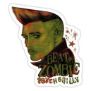 Sticker elvis beat zombie psychobilly d.Vicente 24