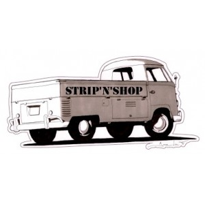 Sticker Strip'n'Shop kombi single cab VW SNS Pick-up