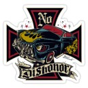 Sticker kustom no dishonor iron cross d.Vicente 36